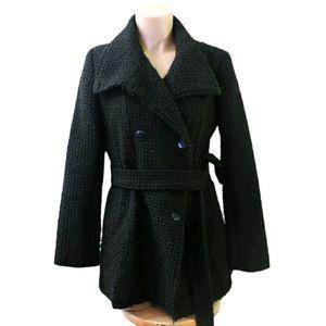 Calvin klein wool winter pea coat size 8 Medium
